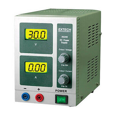 Extech 382200 Dc Power Supply 30v1a