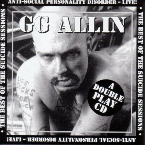 G.G. Allin, Gg Allin - Suicide Sessions / Anti-Social [New CD]