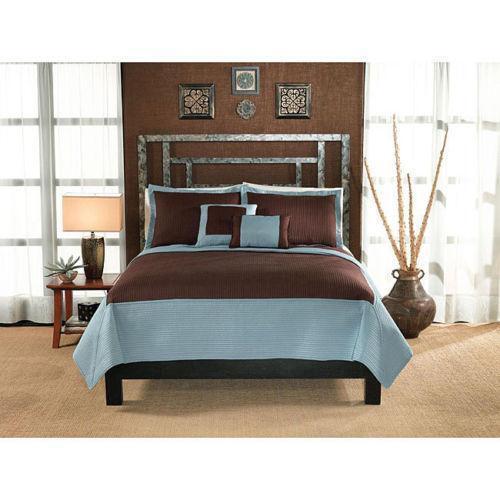 Aqua Brown Bedding Ebay