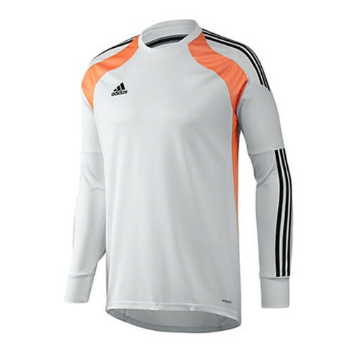 f208bd53133 Details about Adidas Onore Goalkeeping White Mens Football Jersey Top T  Shirt F94655 UA130