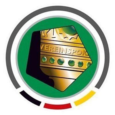 DFB Pokal Logo Patch Jersey Badge 7cm Original Emblem Germany Cup Copa Liga