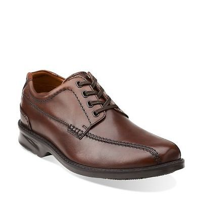 Clarks Casual Oxford (Clarks COLSON OVER Men's Casual Comfort Oxford Shoes Brown Leather 68037)