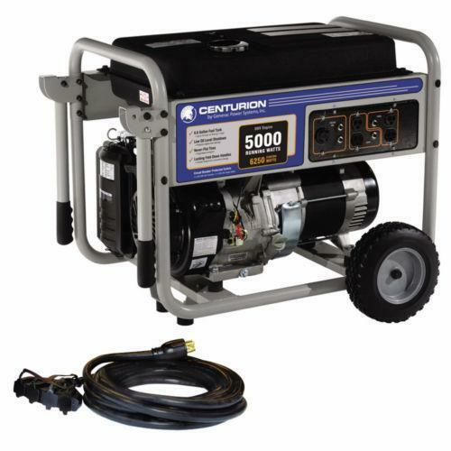 watt generator 5000w generac generator