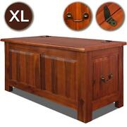 Wooden Chest Box Trunk