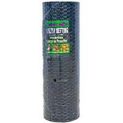 New Jackson Wire 36x150 Ft 1 Black Vinyl Chicken Poultry Netting Wire 6035125