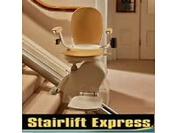 STAIRLIFTS NEW + RECONDTIONED *STANNAH *ACORN *BROOKS, FITTED WITH WARRANTY + FREE SERVICE FROM £499