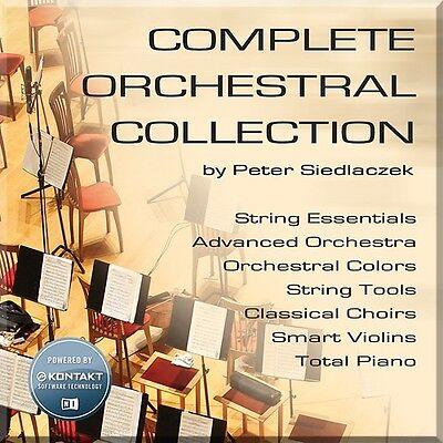 NEW Best Service Complete Orchestral Collection Choir Strings Violin Sampler (Best Service Complete Orchestral Collection)