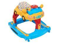 Babylo 4 in 1 Walker and Rocker, Adjustable Infant Activity Musical Toy