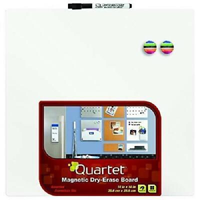 Quartet Magnetic 14 X 14 Dry Erase Whiteboard Tile