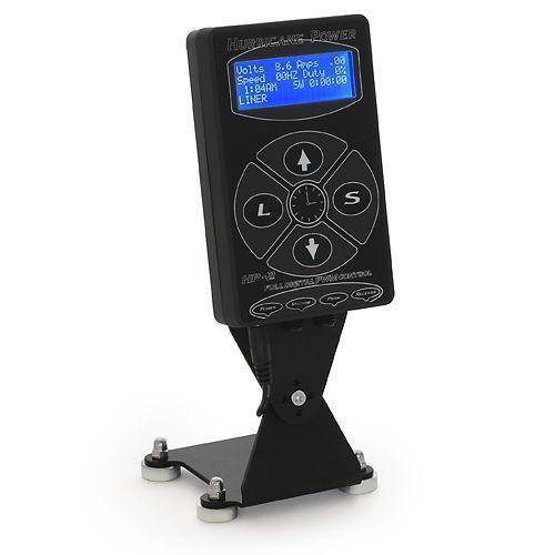 Hurricane digital dual tattoo power supply ebay for Best tattoo power supply