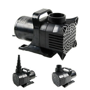 New 7925gph submersible pump 4 koi fish pond waterfall for Best rated pond pumps