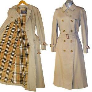 Buy Cheap Fashionable 100% Original Cheap Price Burberry Vintage Long Coat Outlet Locations Cheap Online Browse Online Pictures F6jr7