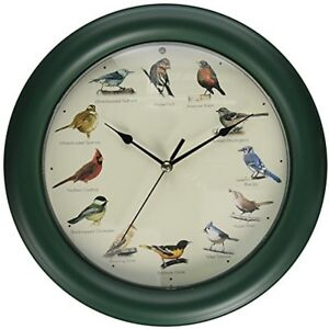 Bird Sound Clock Ebay
