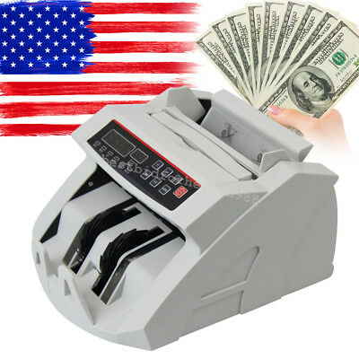Money Bill Cash Counter Bank Currency Counting Machine Uvmg Counterfeit Detect