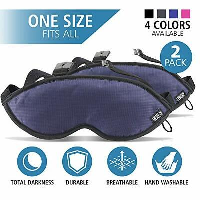 Lewis N. Clark Comfort Eye Mask With Adjustable Straps
