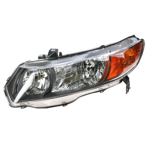Honda Vehicle Headlights : Honda civic coupe headlights ebay