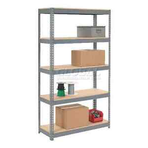 "Heavy Duty BOLTLESS Shelving 48""Wx24""Dx96""H With 4 Wood Shelves Windsor Region Ontario image 1"