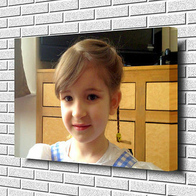 "YOUR PERSONALISED PHOTO PICTURE PRINT on to a Box Canvas A1.30""x20""~Deep Frame"