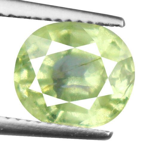 Tsavorite Family Garnet 3.44ct yellowish green color 100% natural earth mined