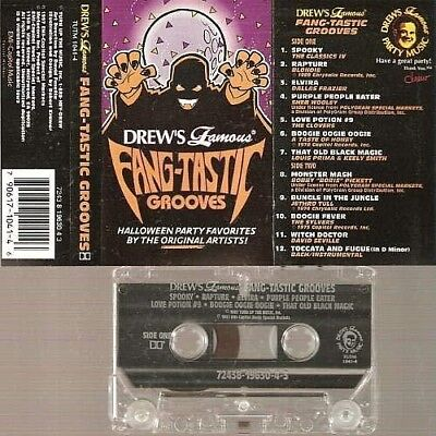 Eerie Halloween Songs (Fangtastic Grooves Halloween Party Scary Music Sealed Cassette CDs Eerie Songs)