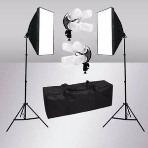 Photography 2200W Photo Studio Softbox Lighting Video Soft Box Dandenong Greater Dandenong Preview