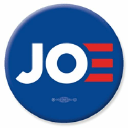 Joe Biden JOE For President 2020 Blue 3 Inch Pinback Button Pin