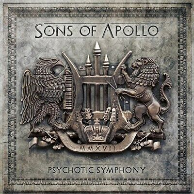 Sons Of Apollo   Psychotic Symphony  New Cd  Deluxe Edition  Digipack Packaging