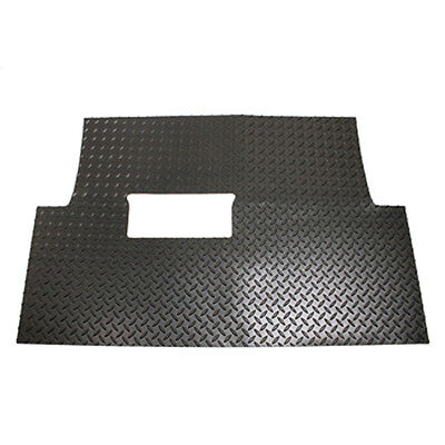Club Car Golf Cart Black Diamond Plate Floor Shield For Precedent 2004 and Up