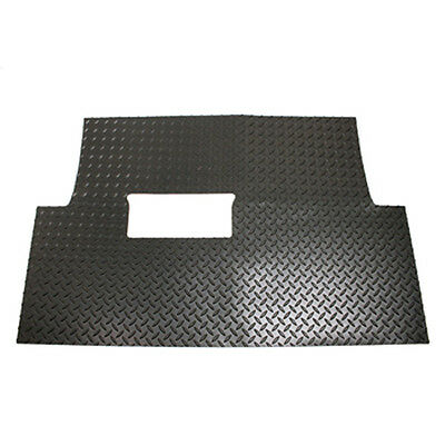Club Car Golf Cart Black Diamond Plate Floor Shield for Precedent Gas & Electric