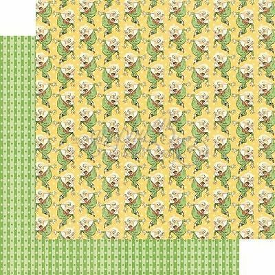 Graphic 45 HUMPTY DUMPTY Nursery Rhymes 12 x 12 Scrapbook Paper - 2 Sheets