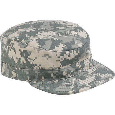 (US Army Digital Camouflage ACU Genuine Military Issue GI Patrol Cap Hat PC New)