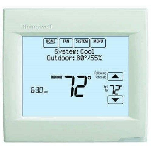 honeywell programmable thermostat touchscreen ebay. Black Bedroom Furniture Sets. Home Design Ideas
