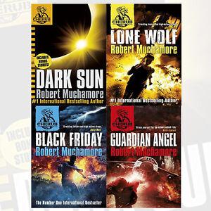 Robert Muchamore CHERUB Series Collection 4 Books Set Dark Sun and other stories