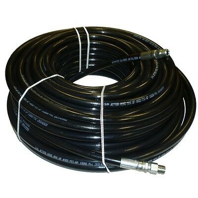 38 X 150 Sewer Cleaning Jetter Hose 4000 Psi Black