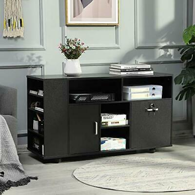 Itaar 1 Drawer File Cabinet With Lock 44 Mobile Lateral Filing Cabinet Black