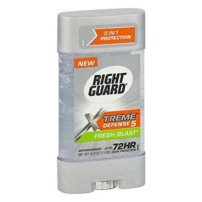 Power Gel Blasts - Right Guard Total Defense Anti-Perspirant Deodorant Power Gel Fresh Blast 4 oz