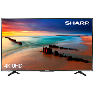 "Brand new Sharp 55"" 4K UHD HDR LED Roku Smart TV"