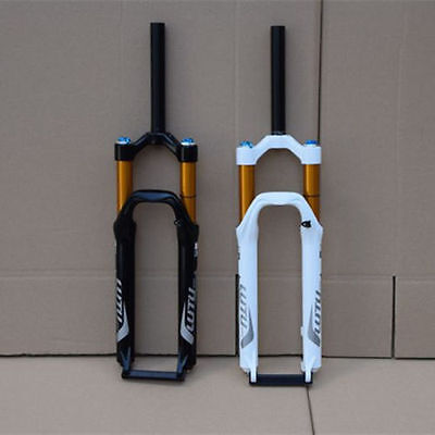 Mountain Bike Suspension Front Fork Cruiser Air Suspen Shock Absorber 26'' 120mm