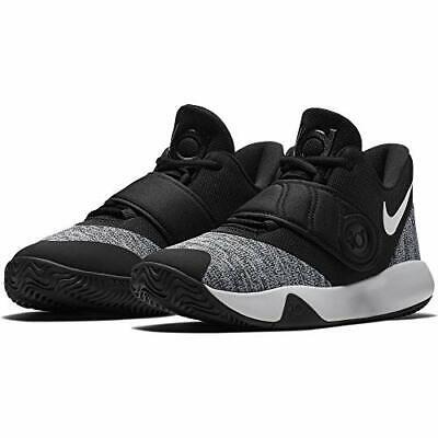 Nike Kid's KD Trey 5 VI PS Basketball Shoes, Black/White, 1Y M Big Kid US