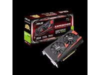 Asus Expedition geforce gtx 1050 graphic card new