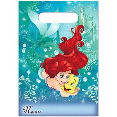 16pc Little Mermaid Princess Ariel Treat Favor Party Loot Candy Gift Bag Birthda - Little Mermaid Treat Bags