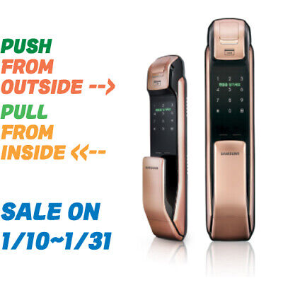 [Sammsung]SHP-DP930 Push Pull Digital Security DoorLock,FingerPrint,No Bluetooth