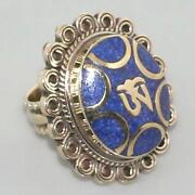 Silver Tribal Ring