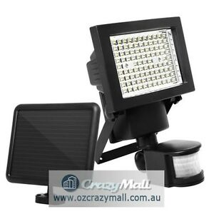 100 LED Security Solar Garden Flood Light Motion Sensor Melbourne CBD Melbourne City Preview