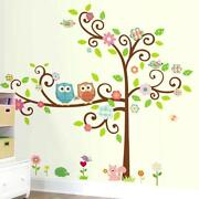 Tree and Bird Wall Stickers