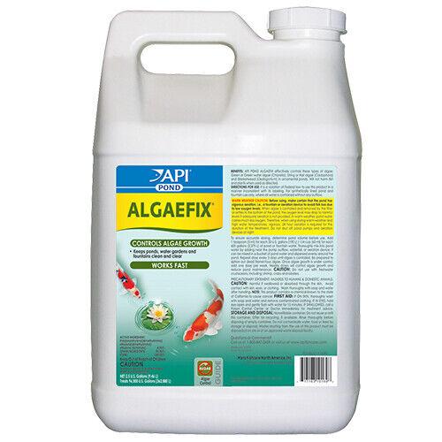 API PondCare AlgaeFix 2 1/2 Gallon Algae Control 169J