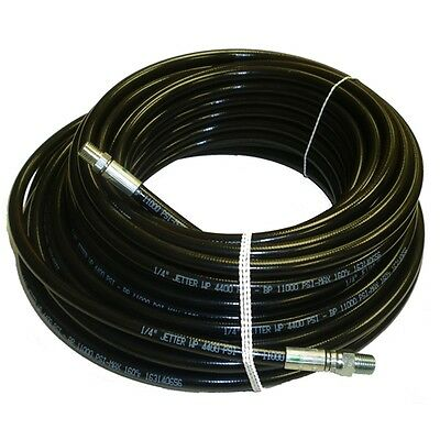 14 X 100 Sewer Cleaning Jetter Hose 4400 Psi