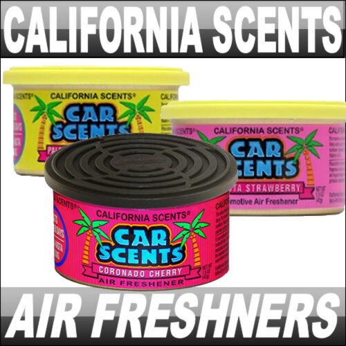 CORONADO CHERRY CALIFORNIA SCENTS CAR AIR FRESHENER FRESHNER NEW