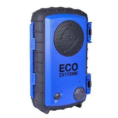 Waterproof Speaker Case - ECOXGEAR Waterproof Portable Speaker Case for iPhone,iPod,MP3,Smart phone Blue