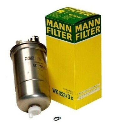 For VW Beetle Golf Jetta L4 Diesel Fuel Filter WK8533X Mann 2002 Vw Jetta Diesel